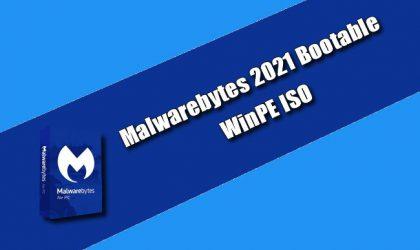 Malwarebytes 2021 Bootable WinPE ISO