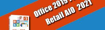 Office 2019 ProPlus Retail AIO 2021